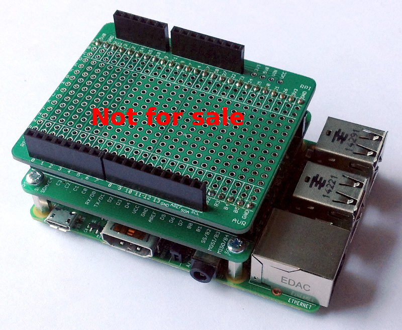 AVRPi: ATmega32U4 and ATmega328 addon boards (